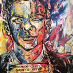 """Frank Sinatra Mugshot"" by Matthew Fellows, Acrylic on Canvas"