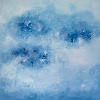 """Sky"" by Cecilie Kolderup, Acrylic on Canvas"