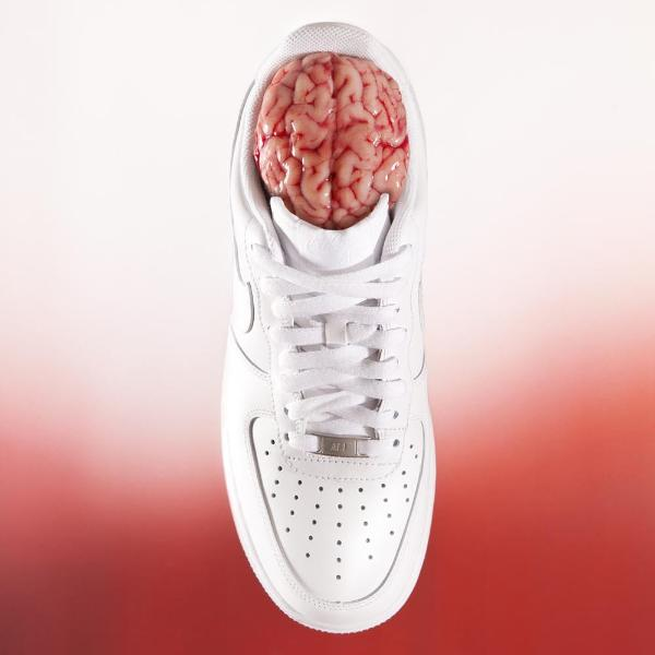 """Sneaker Head"" by Caterina Rancho, Photo Print on Alu-Dibond"