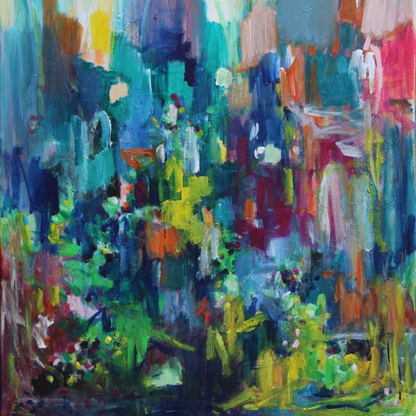 """Swept Up"" by Geesien Postema, Acrylic on Canvas"