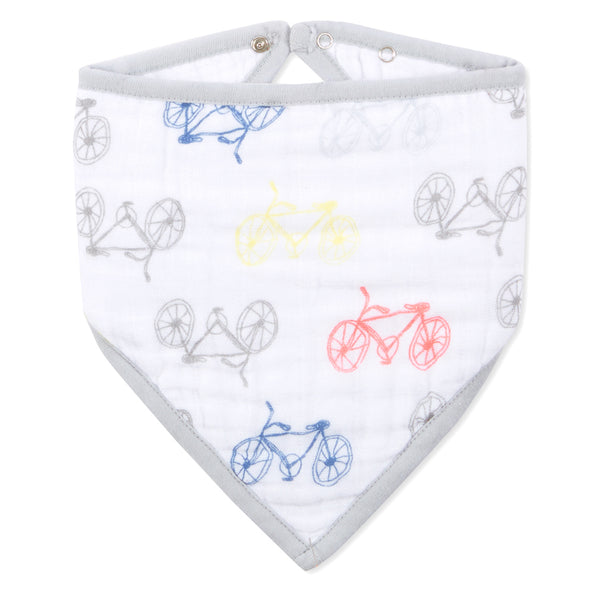 Aden+Anais - leader of the pack - cycles bandana bib   مريلة على شكل بندانة