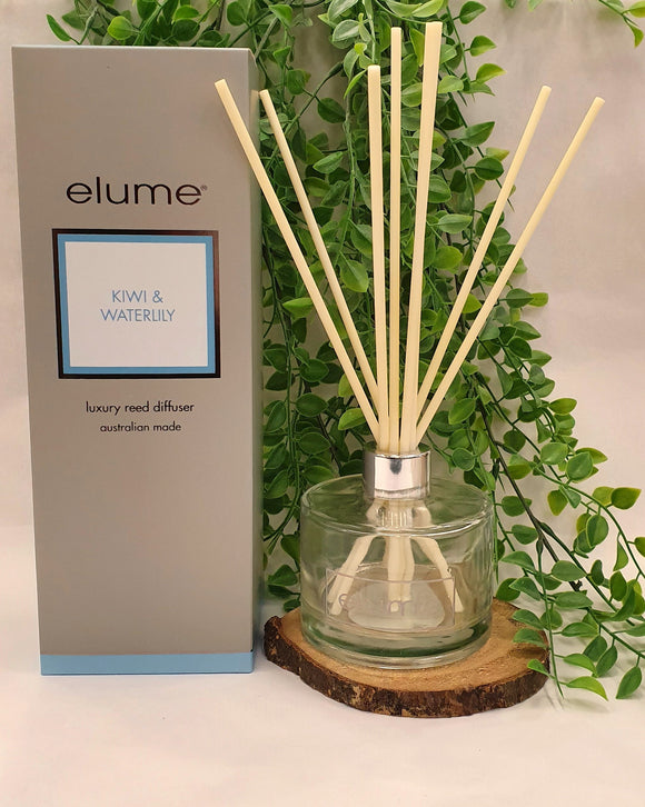 Kiwi & Waterlily Reed Diffuser