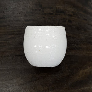 White Tub Pot