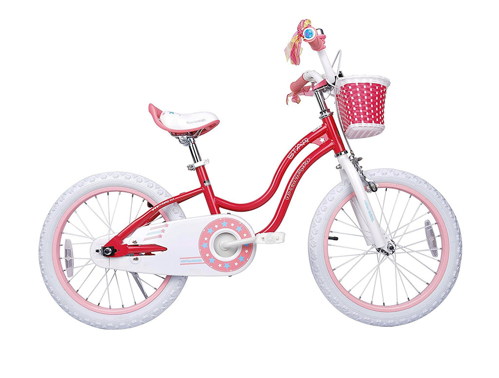 a40a6147cbc3 ... Royalbaby Stargirl Girl's Bike with Training Wheels and Basket, 12-14-16-  ...