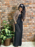 Leopard Print Cardigan Regular and Plus