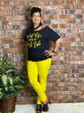 Regular Super Stretch Jeans Yellow