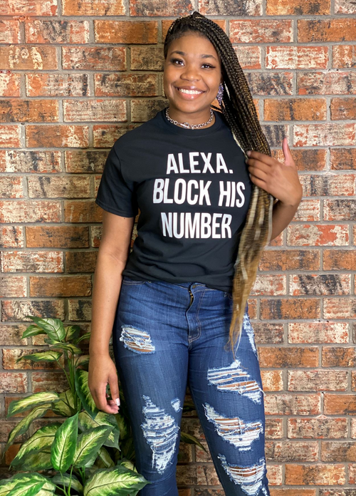Alexa Block his Number