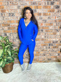 Royal Blue Jogger Set