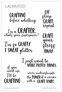 Craft Quotes