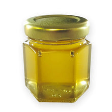 2.25 oz Hexagon Honey Favor - Gold or White Lid