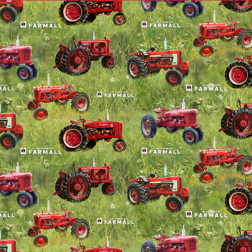 FARMALL TRACTORS TOSSED