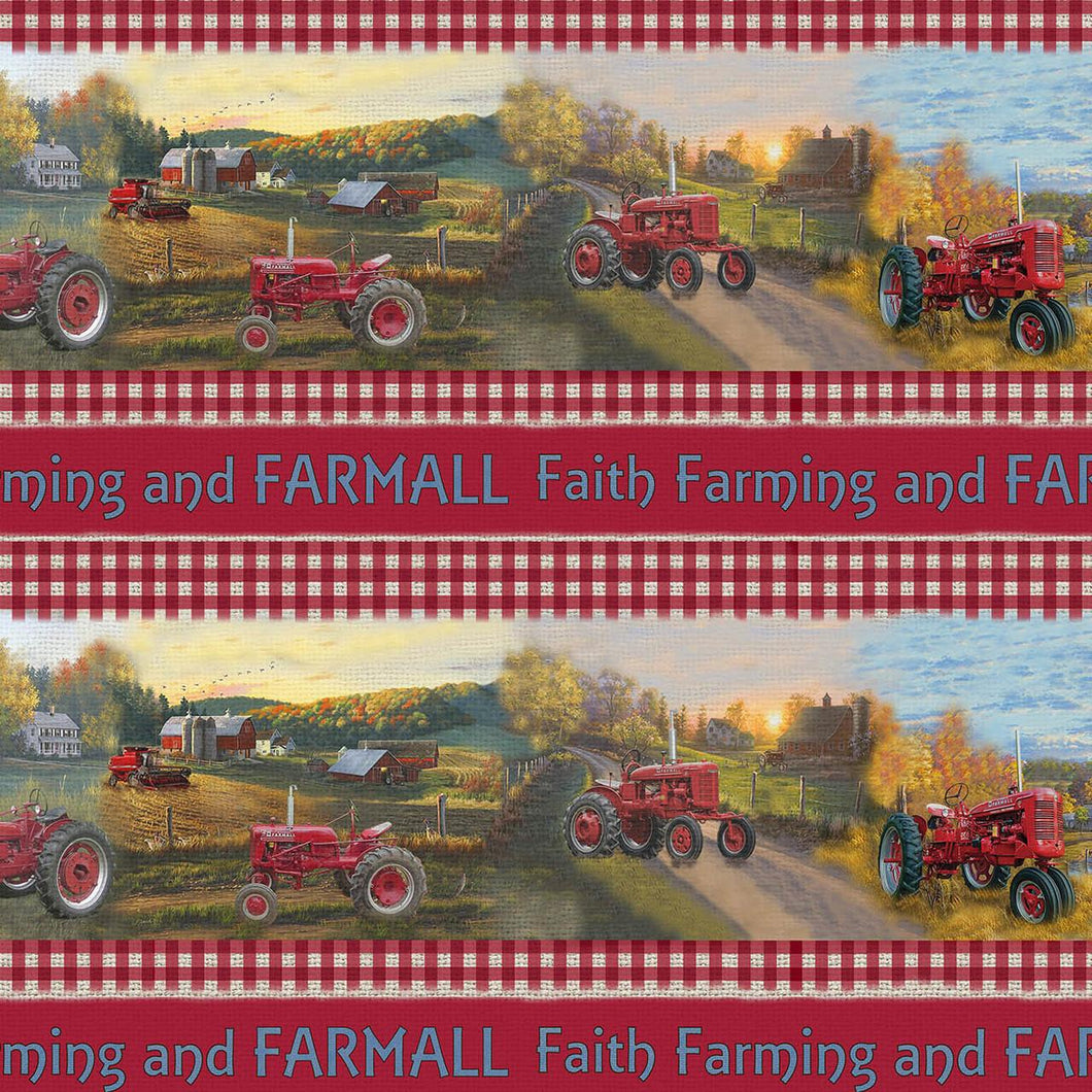 FARMALL COUNTRY CHECK STRIPE