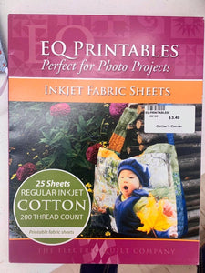 EQ PRINTABLES COTTON 200 COUNT