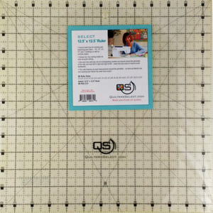 QS - Quilting Ruler 12.5X12.5