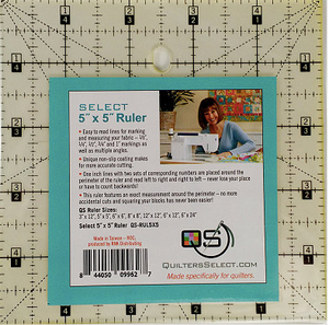QS - Quilting Ruler 5x5