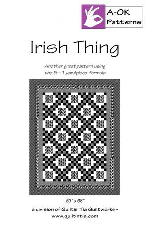 IRISH THING PATTERN