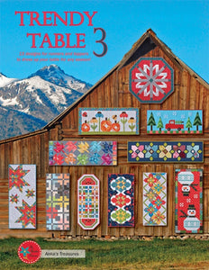 TRENDY TABLE 3 PATTERN BOOK