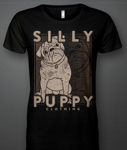 Silly Puppy Puppy Model Tee