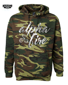 The Alpha Fire Camo Hoodie