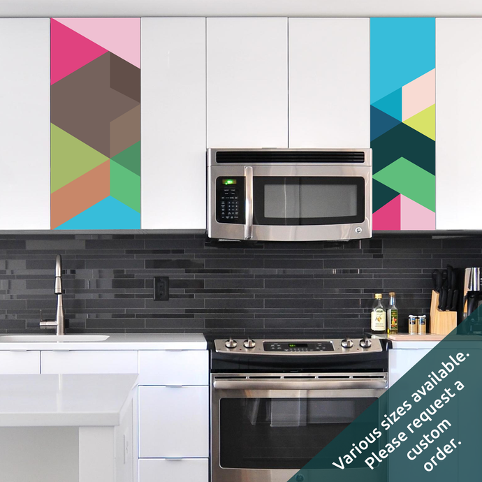 How to update your kitchen cabinets in seconds with a custom decal