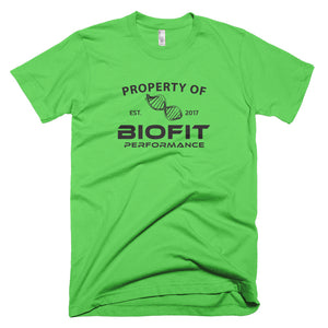 Property of Biofit - Short-Sleeve T-Shirt