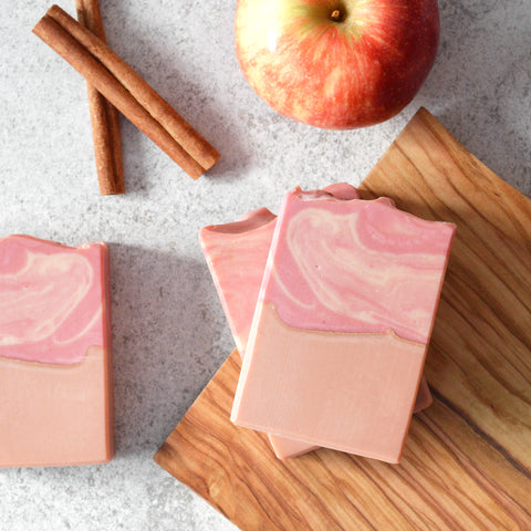 Apple Cinnamon Goat Milk Soap