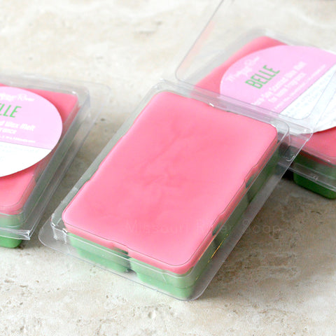 Belle Scented Wax Melt Clamshell