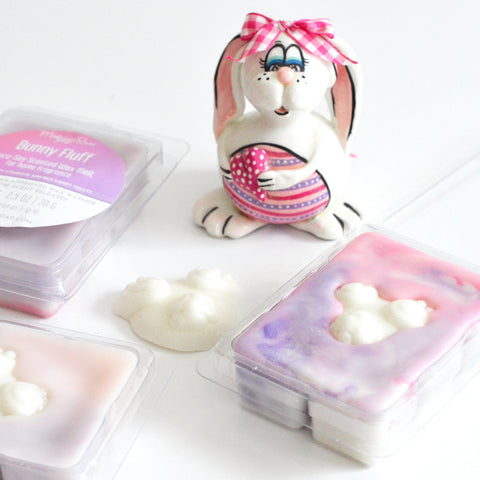 Bunny Fluff Scented Wax Melt Clamshell