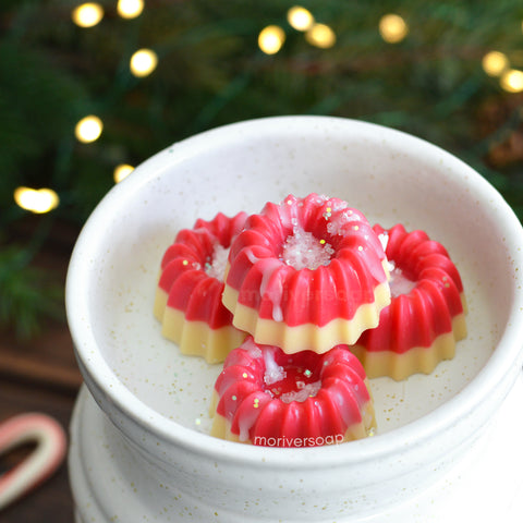 Candy Cane Cookie Wax Melt - 1 pc