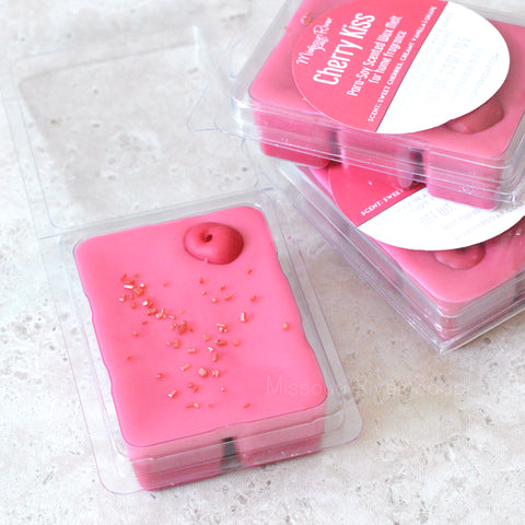 Cherry Kiss Scented Wax Melt Clamshell