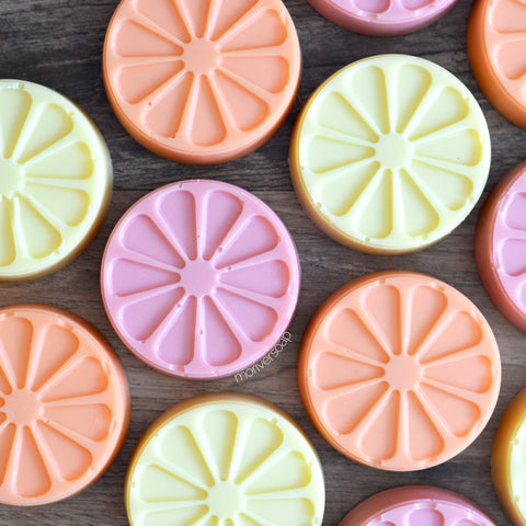 Citrus Shaped Soaps - Choose Scent