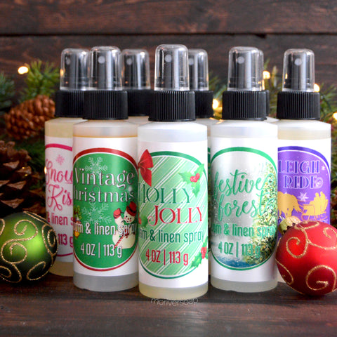 Holiday Room & Linen Aroma Spray - CHOOSE YOUR SCENT