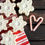 Peppermint Snowflake Sea Salt Soap