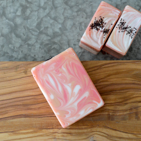 Poppies & Peaches Soap