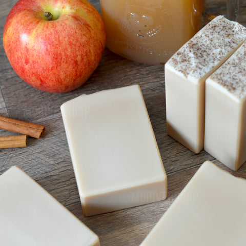 Spiced Apple Cider Essential Oil Soap