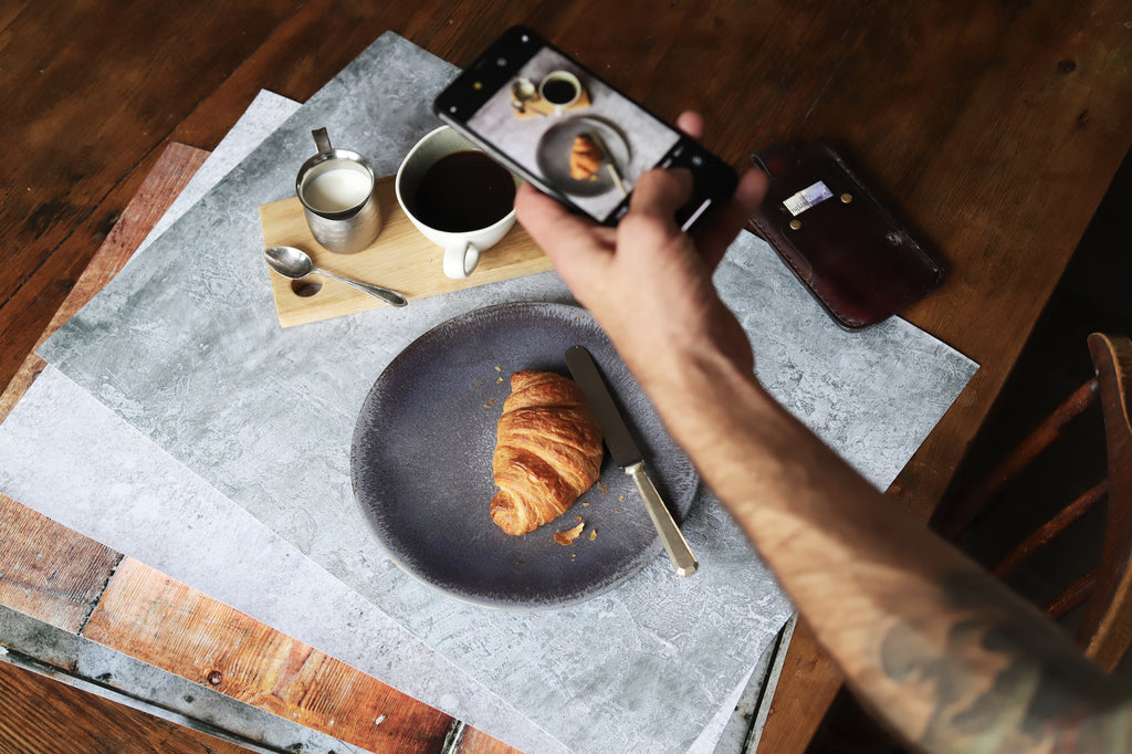 guide to food styling backdrops photography backgrounds photo stylist board flatlay paper