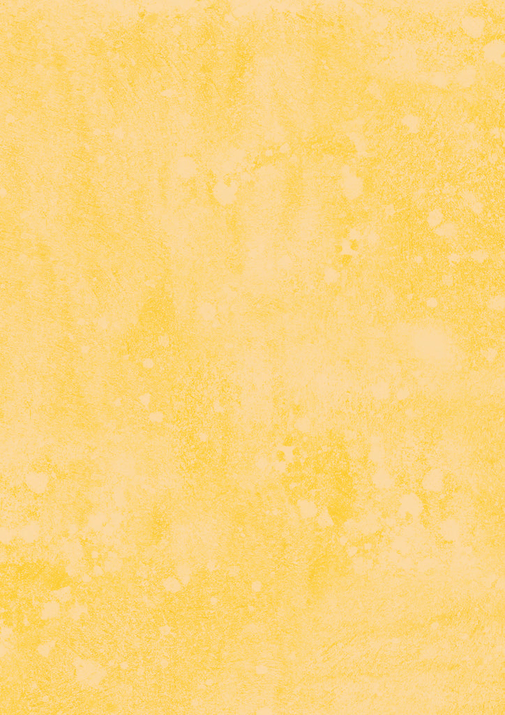 114. 'Sunshine' yellow mottled paint effect printed photography background, A1 size paper sheet