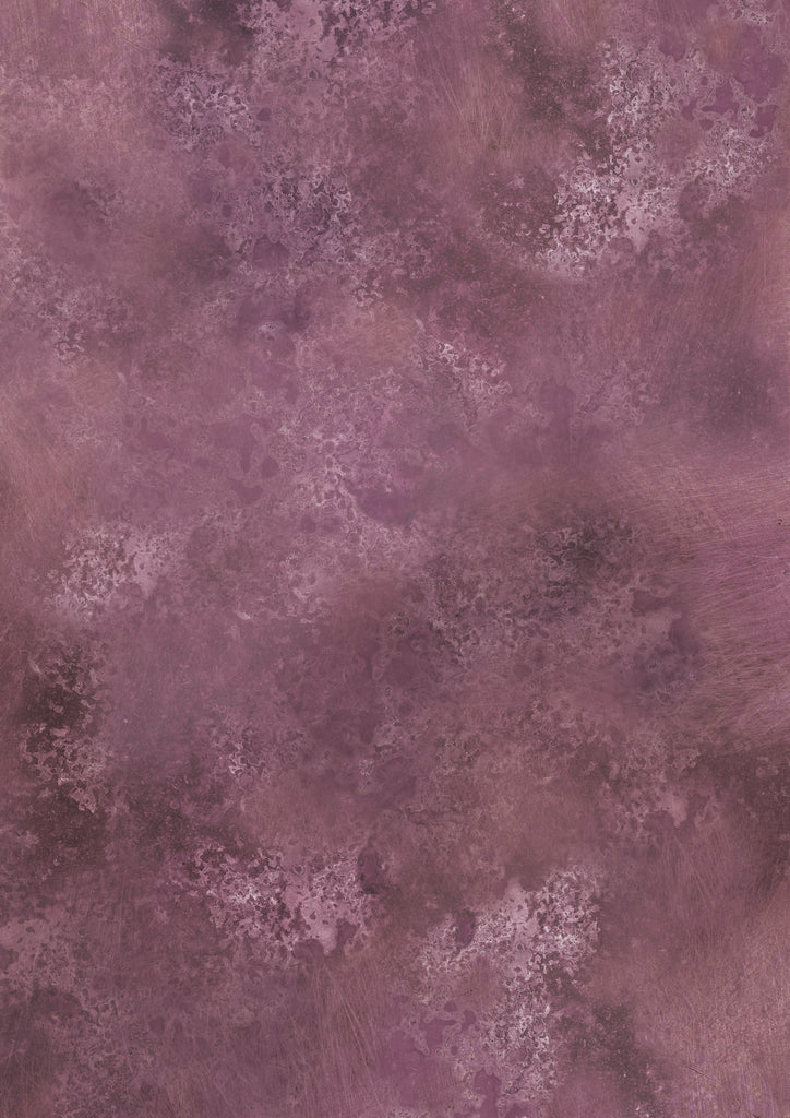 158. 'Plum' dusty purple printed photography background, A1 size paper sheet