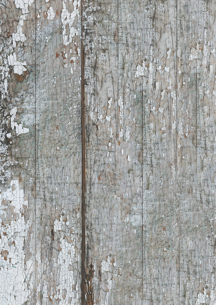 165. 'Beaten' old mill board, wood effect printed photography background, A1 size paper she