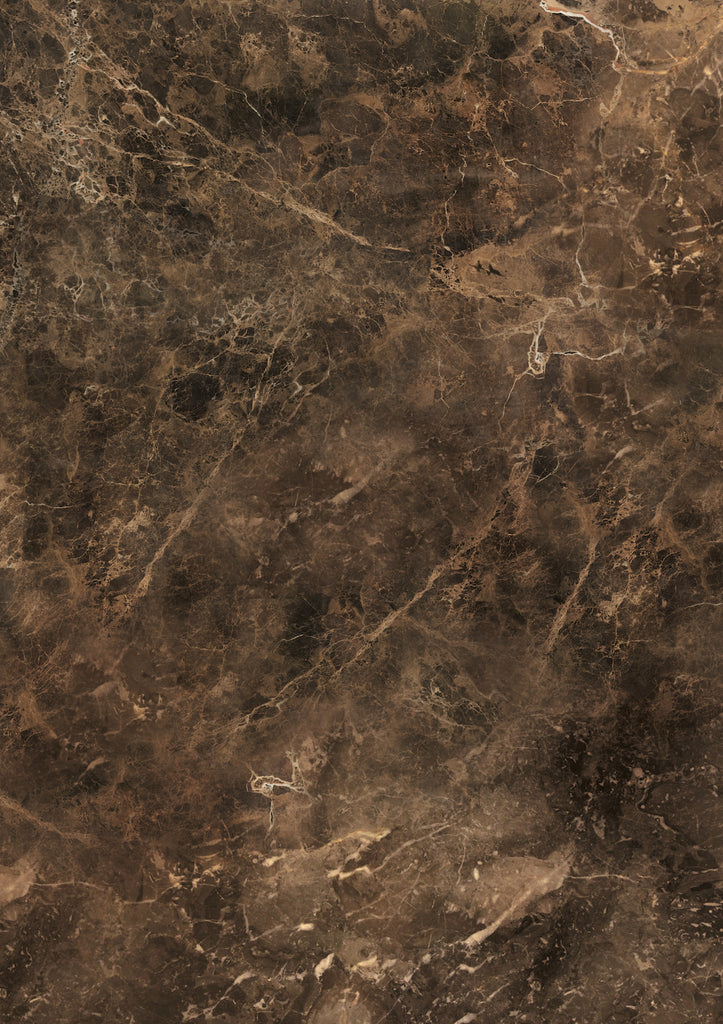 503. 'Malta'  warm brown faux marble effect, A1 vinyl photography background