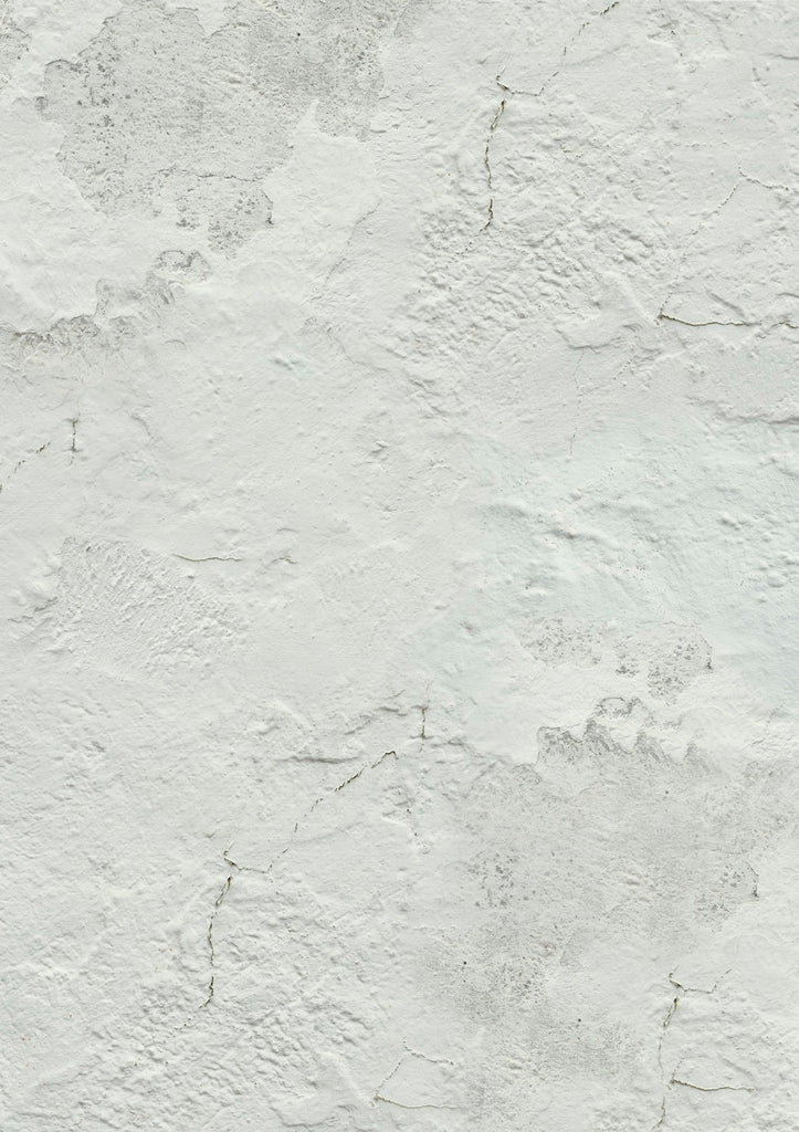 504. 'Cotton' old white wall, A1 vinyl photography background