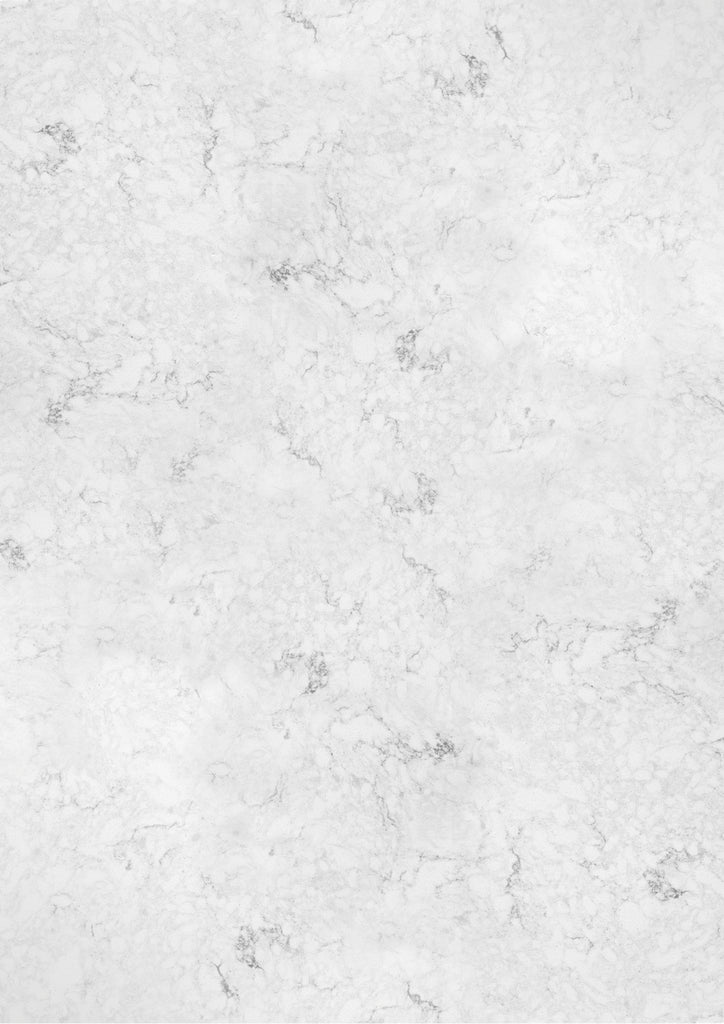 129. Large 'Cara' white and grey quartz effect printed photography background, A0 size