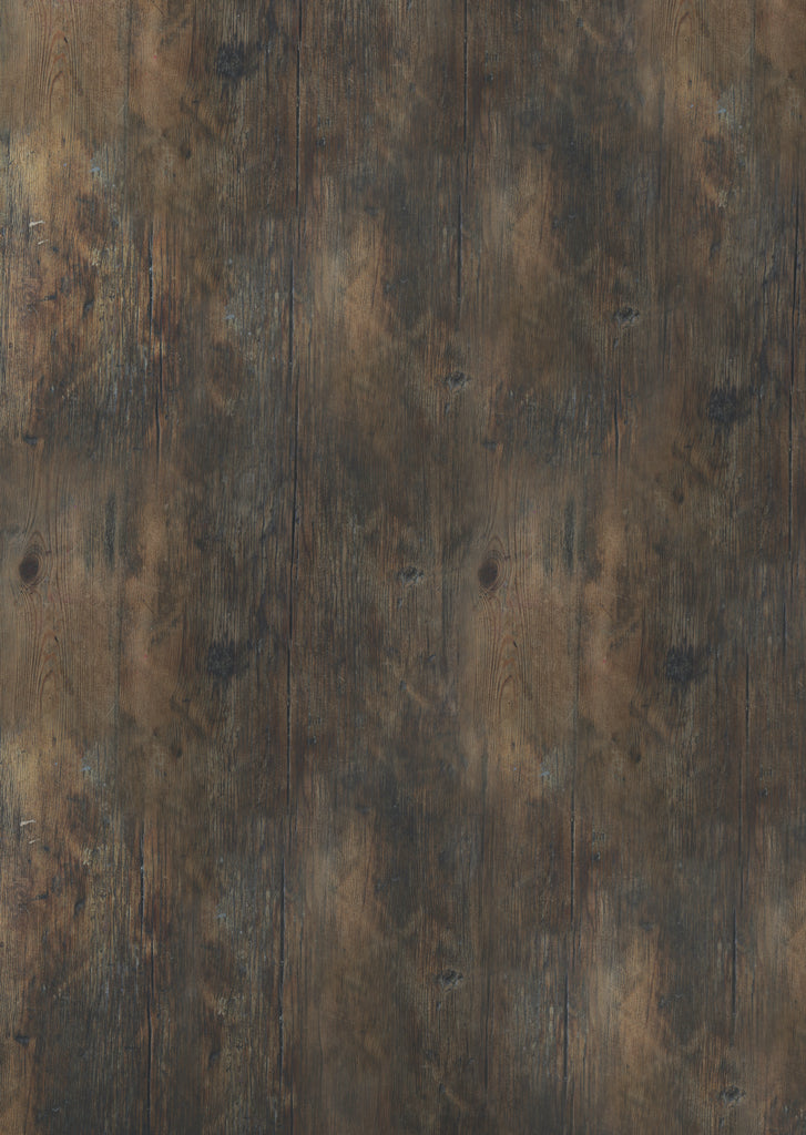 141. Large 'Galley' old, dark wood effect printed photography background, A0 size paper sheet