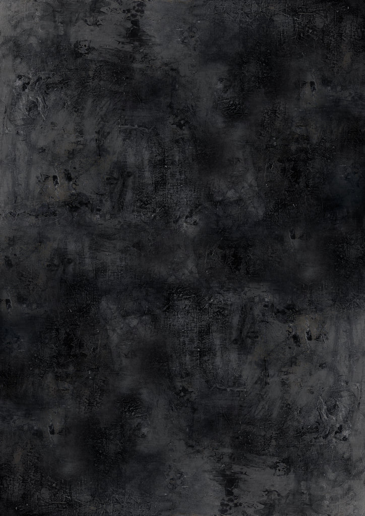 1020. Large 'Kyoto' black slate effect printed photography background, A0 size paper sheet