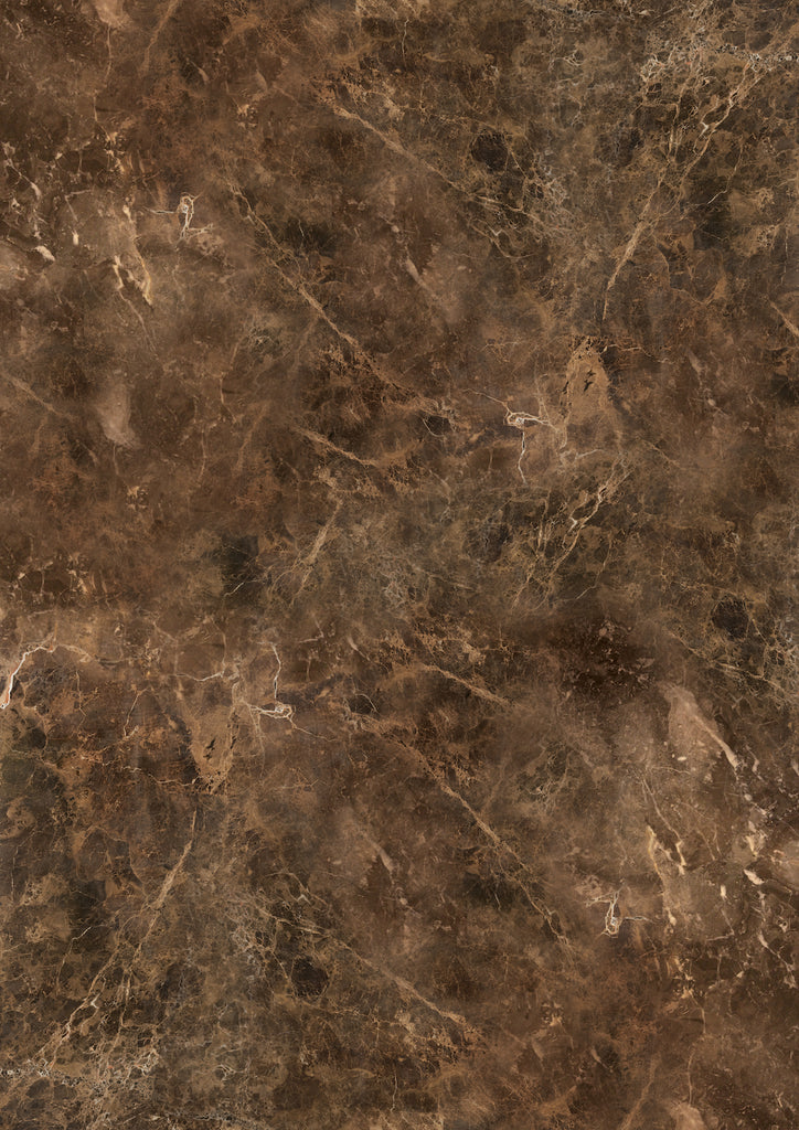 192 Large 'Malta' warm brown faux marble effect printed photography background, A0 size