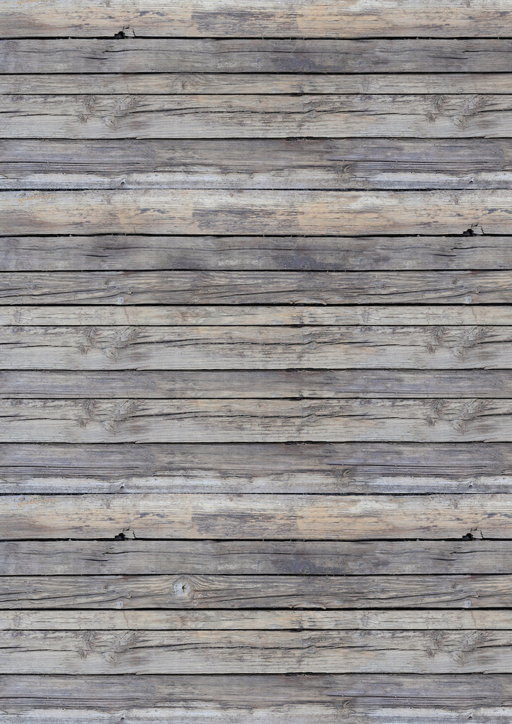 1003. Large 'Potters Shelf' old wood effect printed photography background, A0 size paper sheet