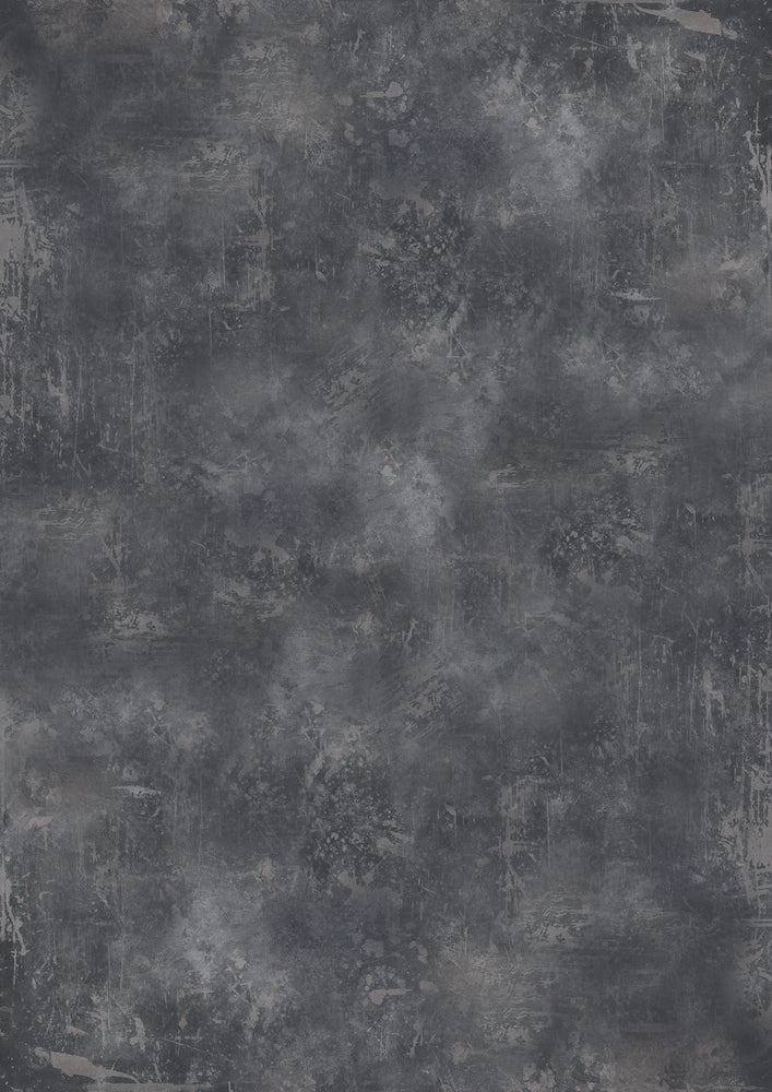1009. Large 'Rum' dark grey weathered effect printed photography background, A0 size paper sheet