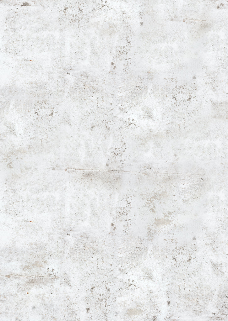 153. Large 'Salt' mottled white wall effect printed photography background, A0 size paper sheet