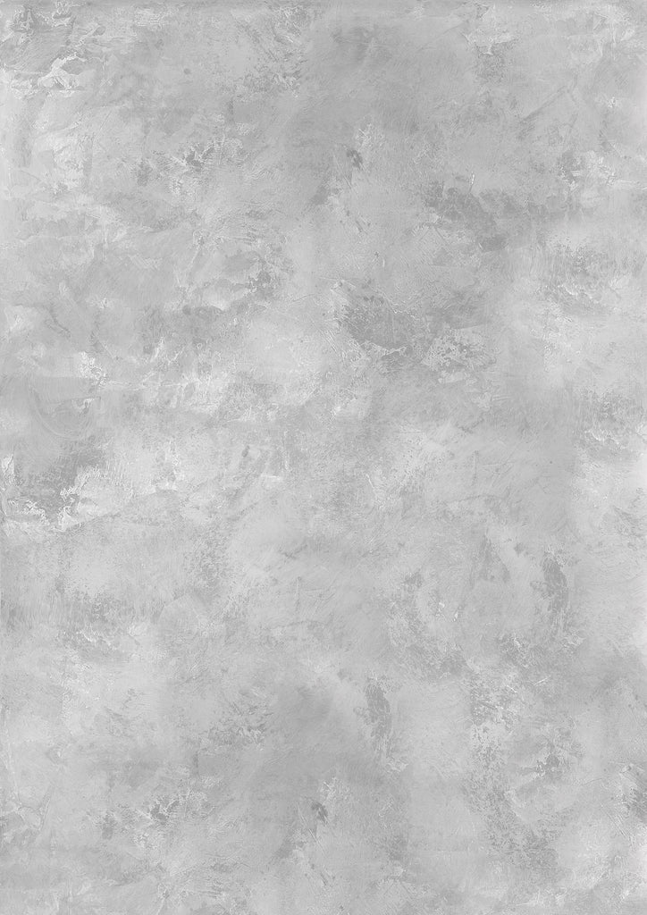 134. Large 'True' painted grey effect printed photography background, A0 size