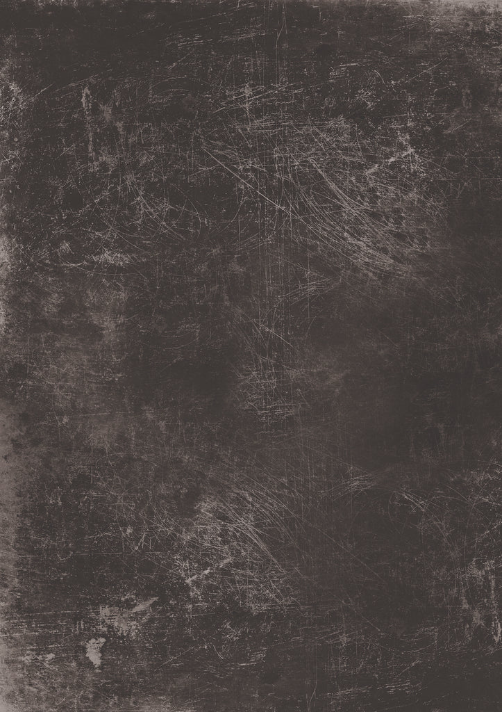 184. 'Ash' black metal printed photography background, A1 size paper sheet
